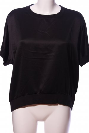 Q/S Oversized Bluse schwarz Casual-Look
