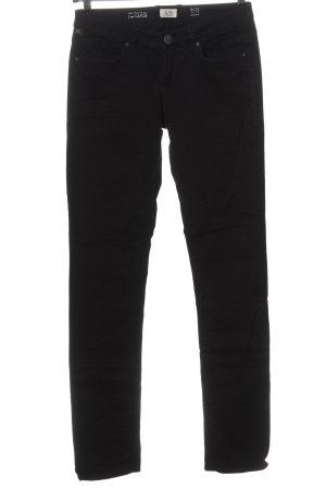 Q/S Pantalon cigarette noir style décontracté
