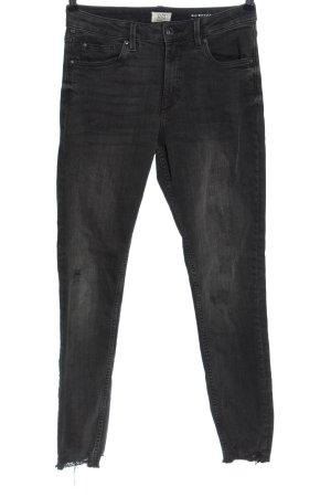 Q/S Jeans a sigaretta grigio chiaro stile casual