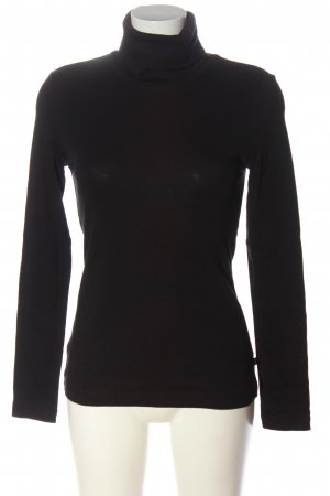 Q/S Turtleneck Shirt black casual look