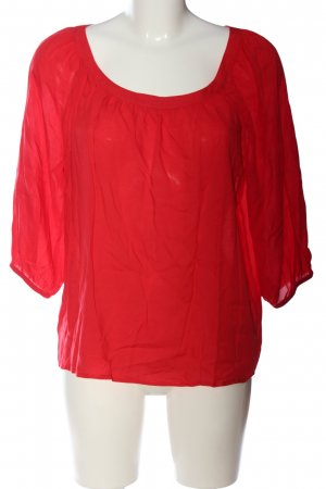 Q/S Schlupf-Bluse rot Casual-Look