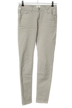 Q/S Jeans slim gris clair style décontracté