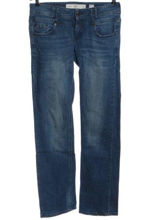 Q/S Jeansy z prostymi nogawkami niebieski W stylu casual