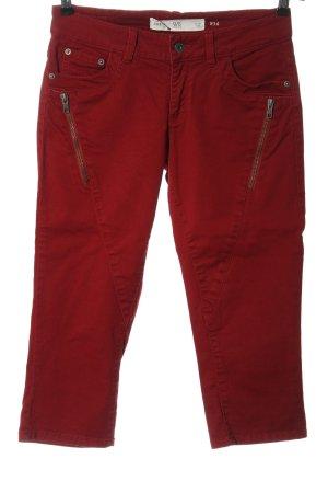 Q/S Jeansy z prostymi nogawkami czerwony W stylu casual