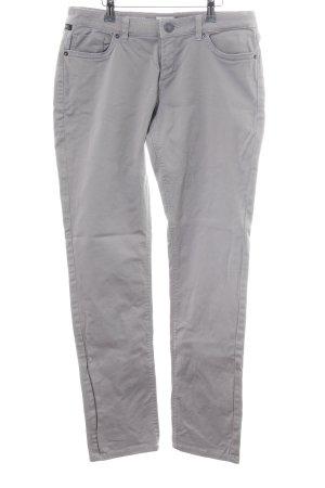 Q/S Straight-Leg Jeans hellgrau Casual-Look