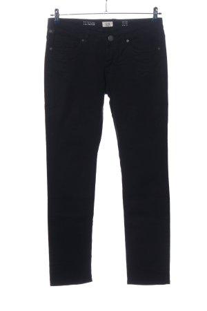 Q/S Jeansy z prostymi nogawkami czarny W stylu casual