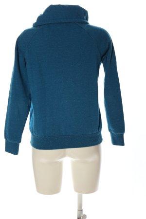 Q/S Sweatshirt blau meliert Casual-Look