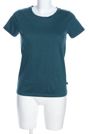 Q/S T-Shirt blau Casual-Look