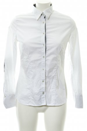 Q1 Langarm-Bluse mehrfarbig Business-Look