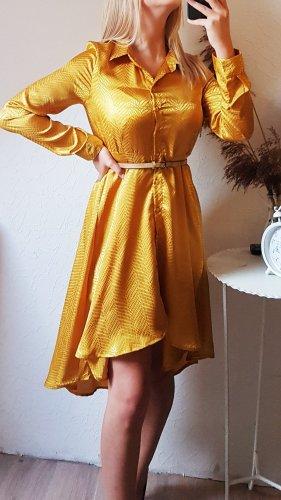 QED London Abendkleid senf gelb 38 NEU