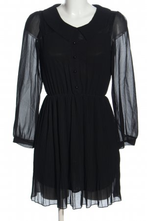 QED London Blusenkleid schwarz Casual-Look
