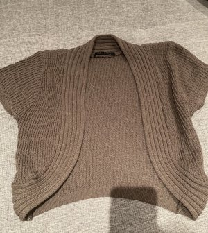 QED London Knitted Bolero light brown-grey brown