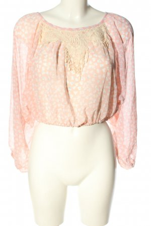QED London Carmen-Bluse Allover-Druck Casual-Look