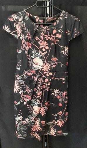 Qed London Damen Etuikleid Blumenprint neuwertig