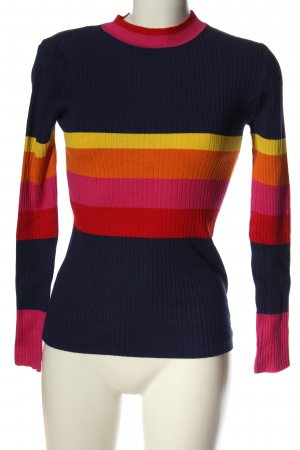 QED London Feinstrickpullover Streifenmuster Casual-Look