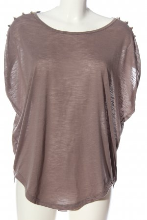 QED London Kurzarm-Bluse pink Casual-Look