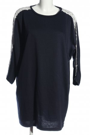 QED London Kurzarmkleid blau Casual-Look