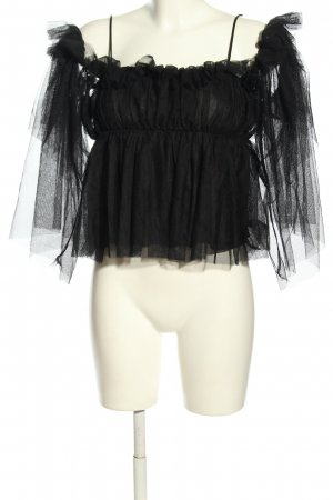 QED London Langarm-Bluse schwarz Elegant