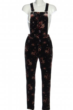QED London Latzhose Allover-Druck Casual-Look