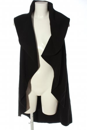 QED London Long Knitted Vest black casual look