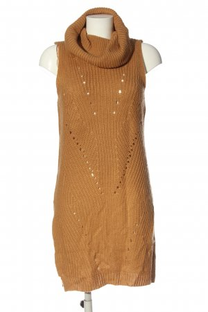 QED London Strickkleid hellorange Casual-Look