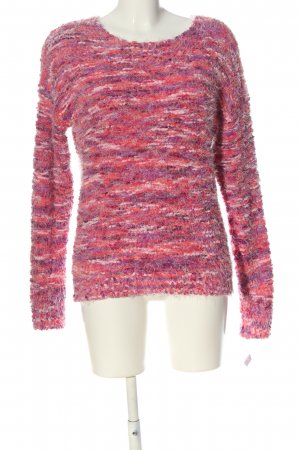 QED London Rundhalspullover pink-lila Casual-Look