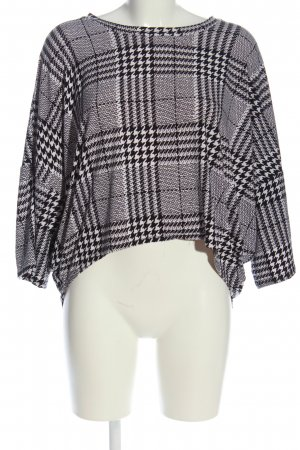 QED London Schlupf-Bluse Karomuster Casual-Look