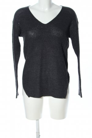 QED London Strickpullover schwarz Casual-Look