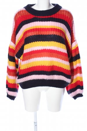 QED London Strickpullover Streifenmuster Casual-Look