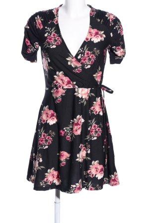 QED London Vestido cruzado estampado floral estilo «business»