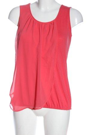 Qiero Sleeveless Blouse pink casual look