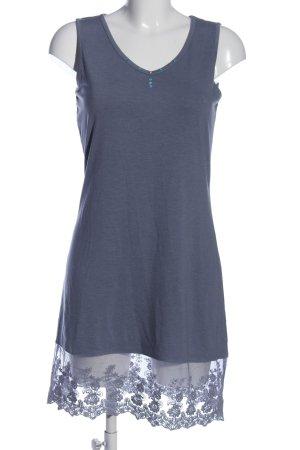 Qiero Blusenkleid blau Casual-Look
