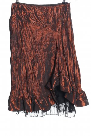 Qiero Crash Skirt bronze-colored extravagant style