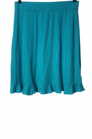 Qiero Flared Skirt turquoise casual look
