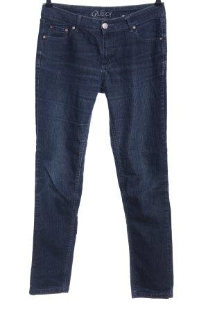 Qiero Jeans vita bassa blu stile casual