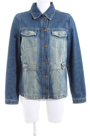 Qiero Jeansjacke blau Farbverlauf Casual-Look