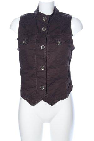 Qiero Denim Vest bronze-colored casual look