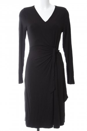 Qiero Jerseykleid schwarz Elegant