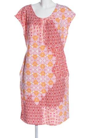 Qiero Shortsleeve Dress abstract pattern casual look