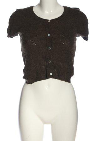 Qiero Short Sleeve Sweater brown casual look