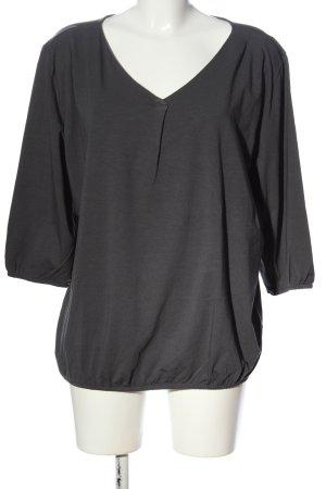 Qiero Langarm-Bluse schwarz Casual-Look