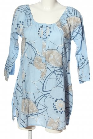 Qiero Long Sleeve Blouse abstract pattern casual look
