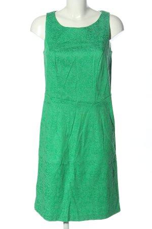 Qiero Midikleid grün Allover-Druck Casual-Look