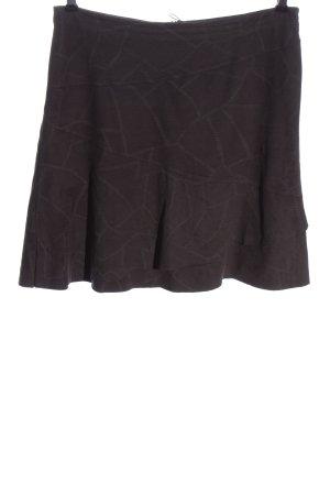 Qiero Miniskirt brown-light grey allover print casual look