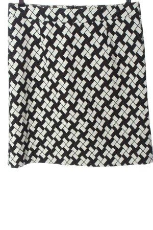 Qiero Miniskirt black-white allover print casual look