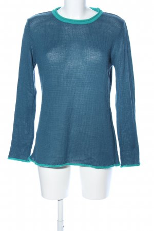 Qiero Rundhalspullover blau Casual-Look