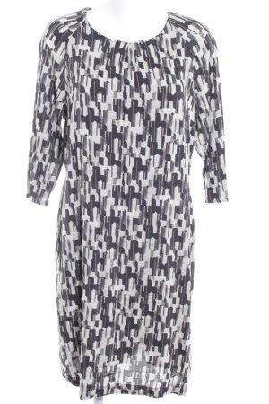 Qiero Shirtkleid abstraktes Muster Casual-Look