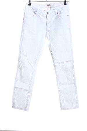 Qiero Straight-Leg Jeans weiß Casual-Look