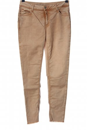 Qiero Jeans slim fit marrone stile casual
