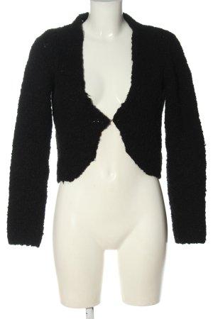 Qiero Knitted Cardigan black casual look